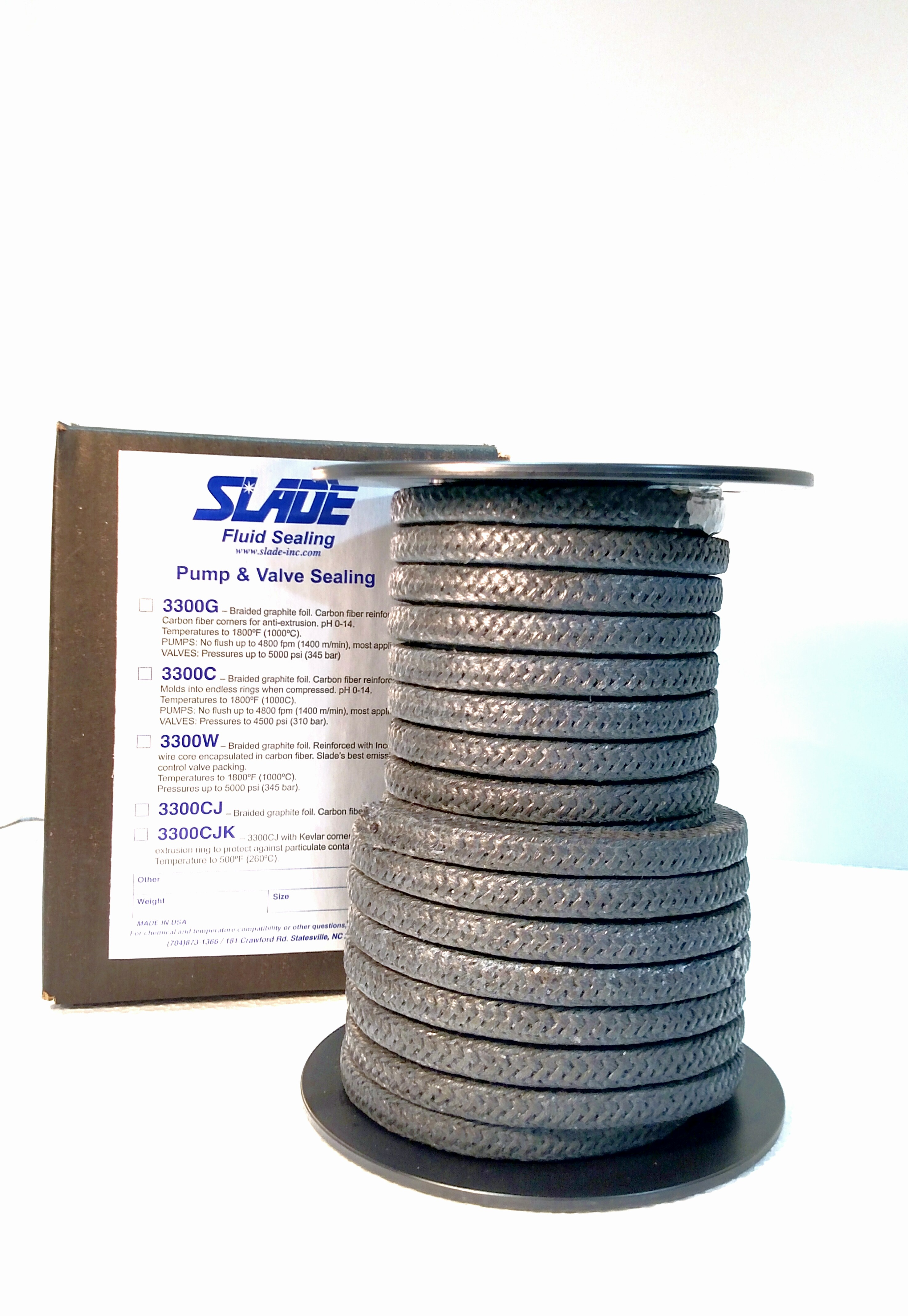 Slade, Inc. - Manufacturer of Sealing Products